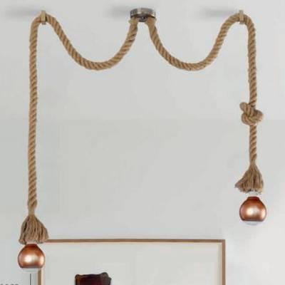 Lámpara cuerda 2l