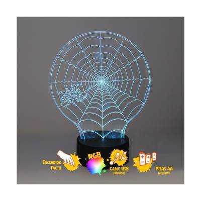 Sobremesa Araña 3D