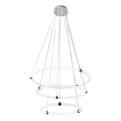 Lámpara colgante Elipse 50 cromo