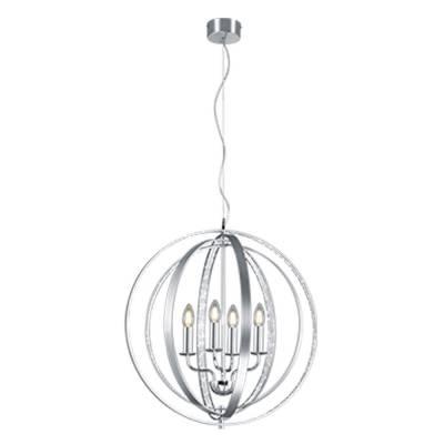 Lámpara Candela aluminio